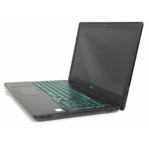 【中古】 FUJITSU 富士通 FMVA53A3BZ ノートパソコン 15.6型 Core i7-6700HQ 2.60GHz 8GB SSD275GB Win10 Home 64bit シャイニーブラック 訳あり  T5002969|rere-store