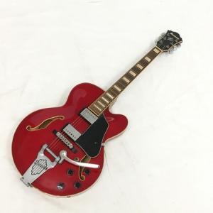 【中古】 Ibanez AFS75T-TRD-12-01 フルアコースティック ギター 楽器 レッド系 アイバニーズ 中古  W3629449 rere-store