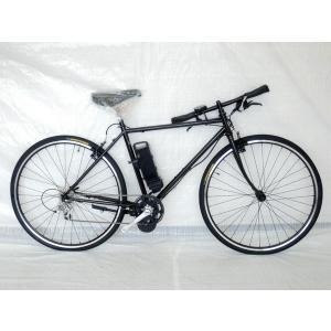 未使用 【中古】 The PARK e-bike P7HE クロスバイク ブラック 電動 アシスト 自転車  Y3160018|rere-store