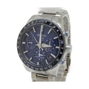 未使用 【中古】 SEIKO セイコー ASTRON アストロン 5X53-0AE0 ソーラー電波 GPS SBXC015 ブルー文字盤 メンズ 腕時計  Y4966327|rere-store
