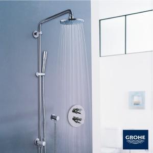 グローエ(GROHE)シャワーシステム ダイバーター切替タイプ(27 058 00J)オーバーヘッドシャワー 商品のみ rerepa