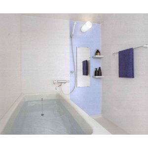 INAX 集合住宅用 ユニットバスルーム BP1216サイズ オプションセット品 Lパネル(EB)寒冷地仕様 LIXIL|rerepa