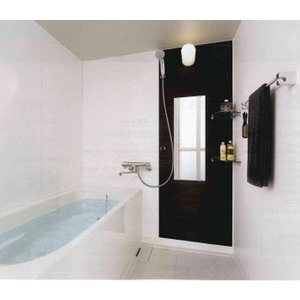 INAX 集合住宅用 ユニットバスルーム BP1216サイズ オプションセット品 Lパネル(HT)LIXIL|rerepa