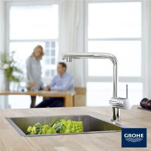 グローエ(GROHE)ミンタ シングルレバー キッチン混合栓(JP 3693 00)商品のみ|rerepa