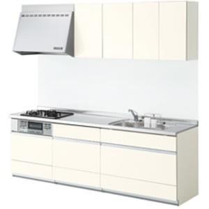 LIXIL システムキッチン シエラ I型 食洗機なし 奥行650 間口2550|rerepa