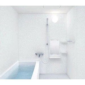TOTO リモデル バスルームマンション 住宅向け WHシリーズ 1116サイズ Tタイプ 基本仕様 WHV1116UTW6/パーパス給湯器 20号給湯専用リモコンセット|rerepa