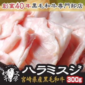 父の日 2021 プレゼント 肉 鍋 宮崎県産 黒毛和牛 ハラミスジ 100g×3パック 計300g...