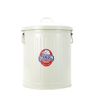 ダルトン ゴミ箱 DULTON ガベージカン 3個セット ふた付き 12L 18L 24L おしゃれ レトロ アメリカン アイボリー(REROOM)|reroom|03