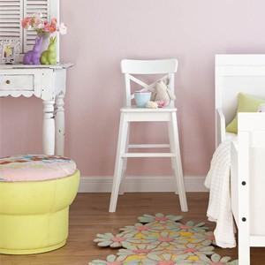 壁紙 のりつき ペット対応 1m 単位切売 シンコール 壁紙 のり付き  BB-1164 ピンク もとの壁紙に重ね貼り OK! 下敷きテープ付き(REROOM)|reroom|02