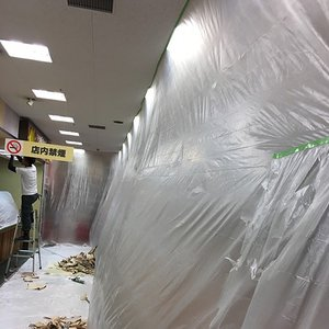 マスカー 特大 養生シート 養生 ビニール ロング  3.6×25m|reroom|02