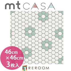 マスキングテープ カモイ mt (460×460)角人気 おしゃれ 壁用 おしゃれテープ 人気 タイル・六角形 MT03WS4603(3枚入り)(REROOM)|reroom