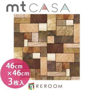 マスキングテープ カモイ mt (460×460)角人気 おしゃれ 壁用 おしゃれテープ 人気 木の断面 MT03WS4605(3枚入り)(REROOM)|reroom