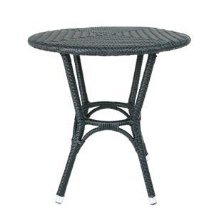 ダルトン DULTON  テーブル おしゃれ 屋外にもおすすめ オープンカフェ 軽量 WEAVING TABLE BLACK OS101854BK(REROOM)|reroom