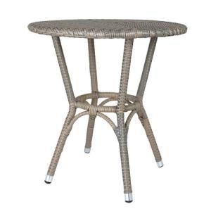 ダルトン DULTON  テーブル おしゃれ 屋外にもおすすめ オープンカフェ 軽量 WEAVING TABLE GRAY OS101854GY(REROOM)|reroom