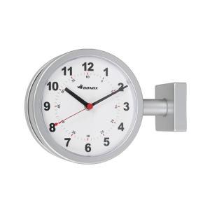 ダルトン ダブルフェイス ウォールクロック S624-659SV シルバー 壁掛け時計 おしゃれ カワイイ レトロ 両面式タイプ(REROOM)|reroom|02