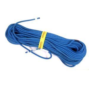 テンドン クライミングロープ アンビション 10.0mm 60m コンプリートシールド加工 ブルー|rescuejapan