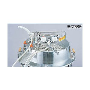 大型炊き出し器 まかないくん30型・85型 専用熱交換器|rescuenet