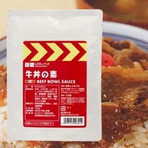 レスキューフーズ 牛丼の素(180g) レトルトハ゜ック24食入 3年保存 rescuenet