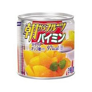 朝からフルーツ 「パイミン」 190g 24缶   防災 非常食 保存食 rescuenet