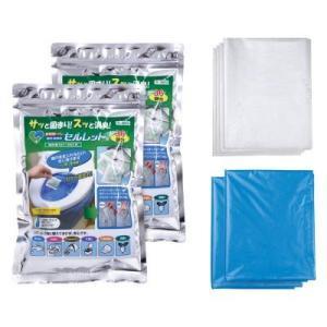 非常用トイレのセルレット50回分(袋付き)|rescuenet