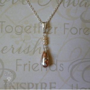Marble Drop - tinyパールのネックレス - resortiara