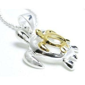 ホヌのネックレス - S&G- Hawaiian Jewelry|resortiara