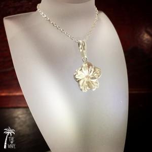 Plumeria -Hawaiian Jewelry Silver -|resortiara
