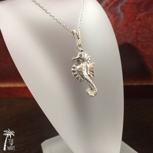 Seahorse - silver -|resortiara
