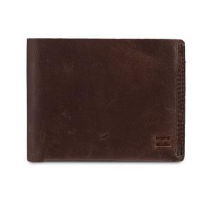 オーストラリア発 サーフブランド BILLABONG 財布 ブラウン 折り畳み|resortiara