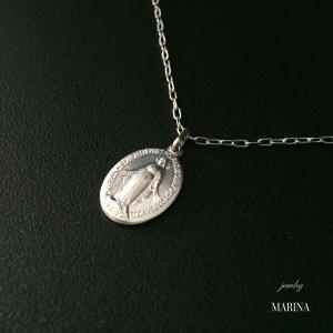 フランス奇跡のメダイのネックレス - silver chain|resortiara