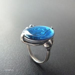フランス奇跡のメダイのリング - blue|resortiara
