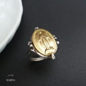 フランス奇跡のメダイのリング - gold|resortiara