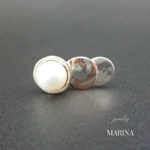 ZEBRA - ring pearl #2 resortiara