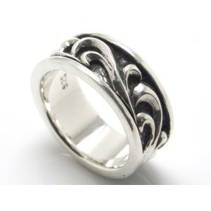 arabesque Ring - silver #8|resortiara
