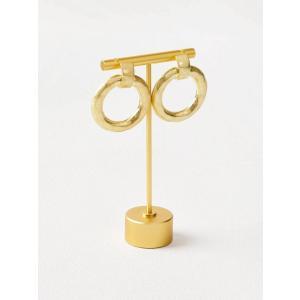 Circle ピアス gold|resortiara