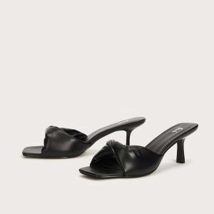 MOTF 靴 サンダル ヒール 高6cm|resortiara