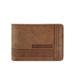 オーストラリア発サーフブランド BILLABONG ビラボン 財布 折り畳み 茶|resortiara