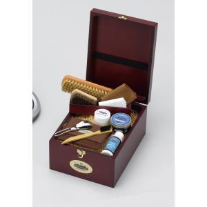 靴磨きセット M.モゥブレィ トラディショナルケアセット 送料無料 シューケアセット 父の日ギフト 靴手入れ|resources-shoecare