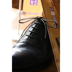紗乃織靴紐 革紐縫掛 60cm〜120cm|resources-shoecare