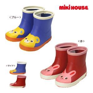 ミキハウス正規販売店/ミキハウス mikihouse つま先にプッチー&うさこ☆レインブーツ(長靴)(13cm-18cm) respect-1