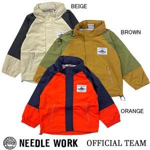 ニードルワーク(NEEDL WORK)OFFICIAL TEAM WIND BREAKER(150cm・S)|respect-1
