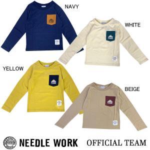 ニードルワーク(NEEDL WORK)OFFICIAL TEAM 長袖Tシャツ ANTI-INSECT POCKET(120cm-140cm)|respect-1