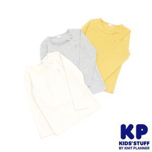 ニットプランナー Knit Planner ワンポイント長袖Tシャツ(80cm・90cm)/KP|respect-1