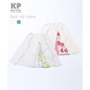 ニットプランナー Knit Planner シフォン切替Tシャツ(100cm・110cm・120cm・130cm)|respect-1