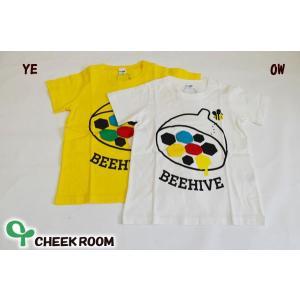 チークルーム(CHEEKROOM) ハチの巣 半袖Tシャツ(90cm・100cm・110cm)|respect-1
