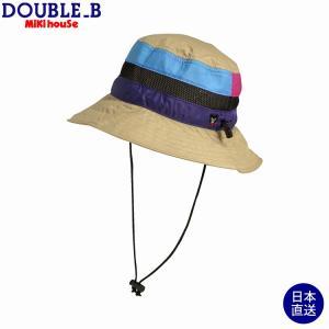 ミキハウス ダブルビー mikihouse 日よけ付きサファリハット(帽子)〈S-LL(48cm-56cm)〉 respect-1