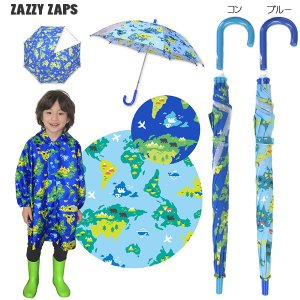 ザジーザップス(Zazzy zaps) WORLDMAP 傘(カサ) 手開き・透明窓つき(M(50cm)・L(55cm))|respect-1