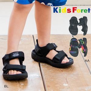 キッズフォーレ Kids Foret スポーツサンダル(15・16・17・18・19cm)/丸高衣料/サマーシューズ|respect-1