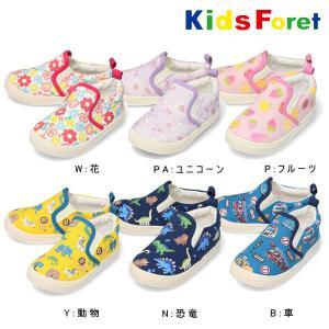 キッズフォーレ Kids Foret 総柄スリッポン・靴・シューズ|respect-1