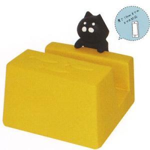DECOLEおじゃまスマホスタンド 黒猫|rest-8663